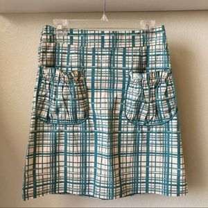 Anthro | Girls From Savoy Ruffle Pocket Skirt